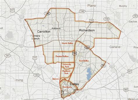 map of dallas texas neighborhoods dallas neighborhoods doris