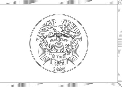 coloring pages utah world flags coloring sheets 8