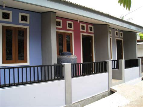 rumah disewakan di kontrak kan baru minimalis dekat