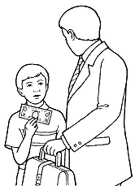 lds coloring pages on tithing lds clipart tithing clip art