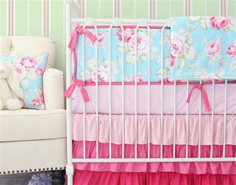 Shabby Chic Baby Cribs Shabby Chic Crib Set How To Choose Shabby Chic Crib Bedding Home Design