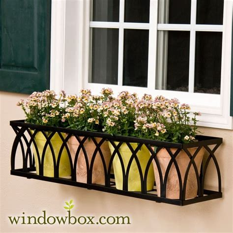 iron window box best 20 wrought iron window boxes ideas on