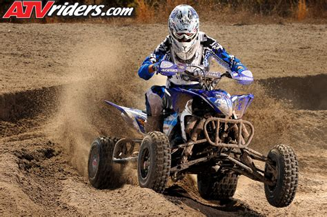 who won the motocross race yamaha s chad wienen wins ssqsa atv motocross season