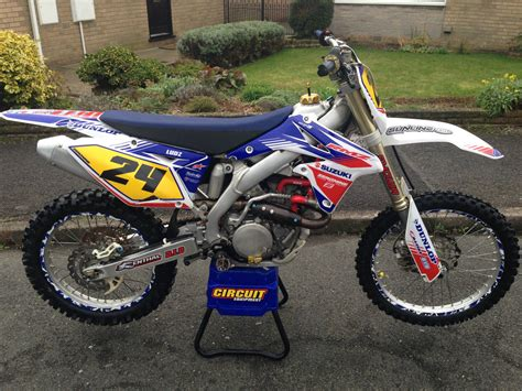 Suzuki Yzf Suzuki Rmz 450 White Edition Motorcross Not Ktm Crf Yzf Or Kxf