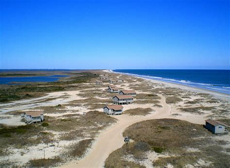 Great Island Cabin C by Cape Lookout National Seashore Rental Cabins On South