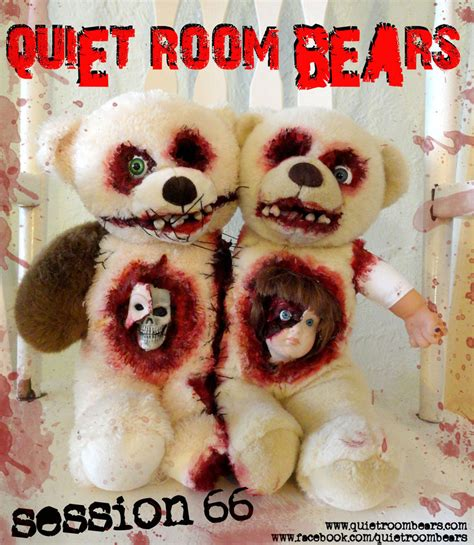 room bears room bears session 66 evil horror teddy by