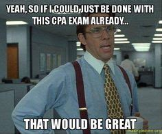 Cpa Exam Meme - 1000 images about cpa on pinterest cpa exam accounting