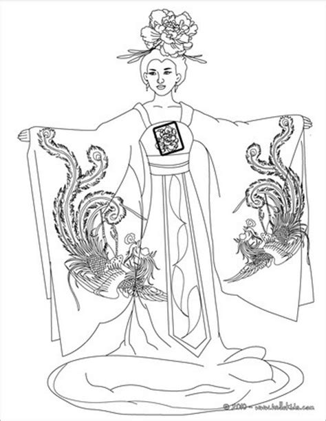 generic princess coloring pages chinese princess coloring pages hellokids com