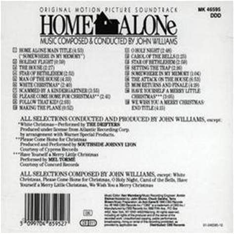 williams home alone soundtrack review from mfiles