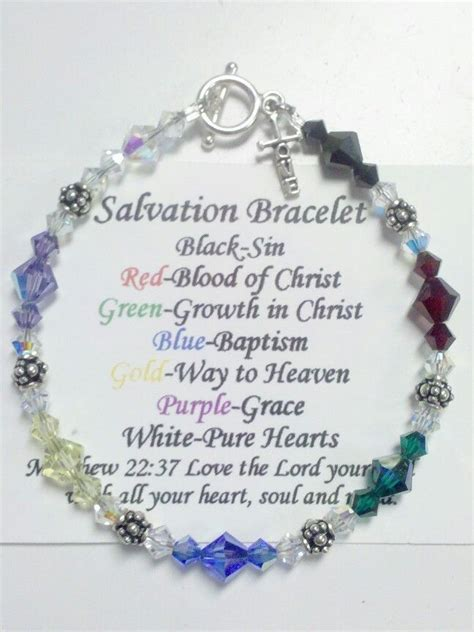 salvation bracelet color meaning 25 b 228 sta salvation bracelet id 233 erna p 229