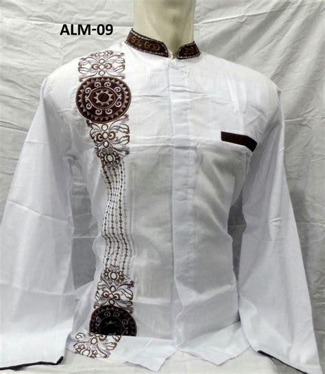 Baju Koko Lengan Panjang Daf3pj 5 12 warna baju koko al madani lengan panjang murah
