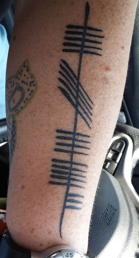 ogham tattoo 36 best images about our ogham tattoos and others we like