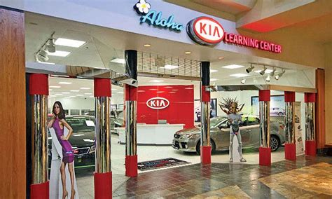 Kia Dealership Oahu Eat At The Food Court Buy A Car