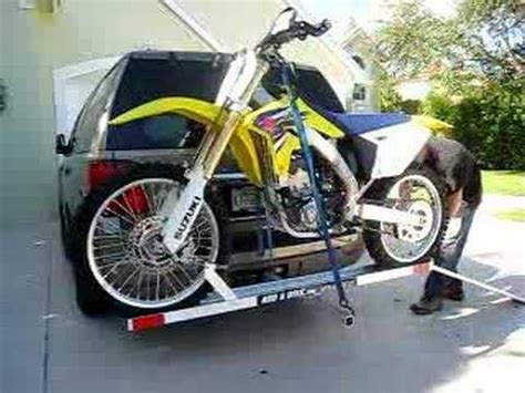 Motorcycle Rack For Car by Add A Bike Dirt Bike Carrier
