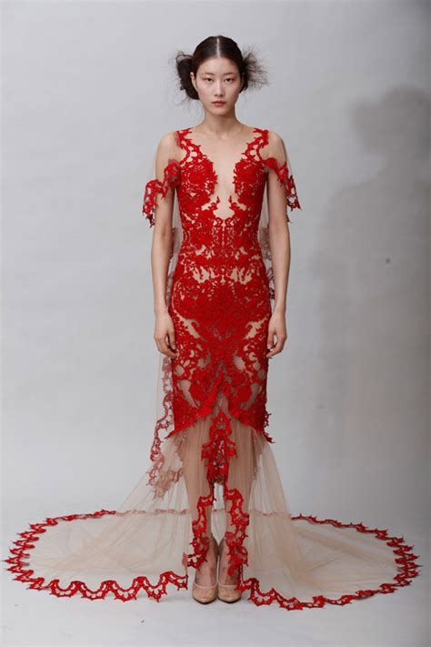 Catwalk To Carpet Nicky In Marchesa by Marchesa Fall 2011 Snob Essentials