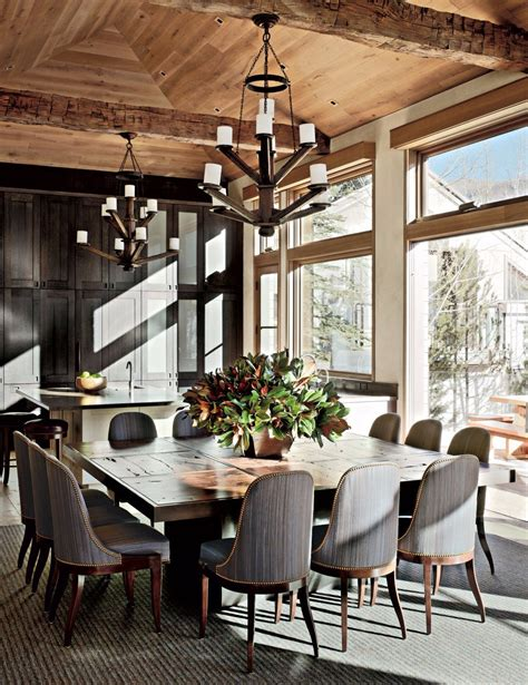 rustic modern dining room 10 superb square dining table ideas for a contemporary