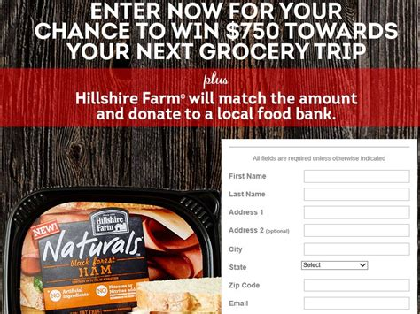 All You Sweepstakes - all you hillshire farms naturally delicious sweepstakes