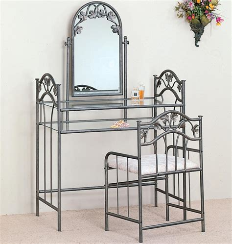 Metal Bedroom Vanity vanities casual metal vanity bedroom vanities