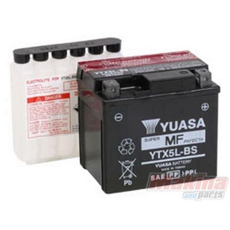 Ktm 525 Battery Ytx5lbs Yuasa Battery Ytx5l Bs Ktm Exc 400 520 525 530