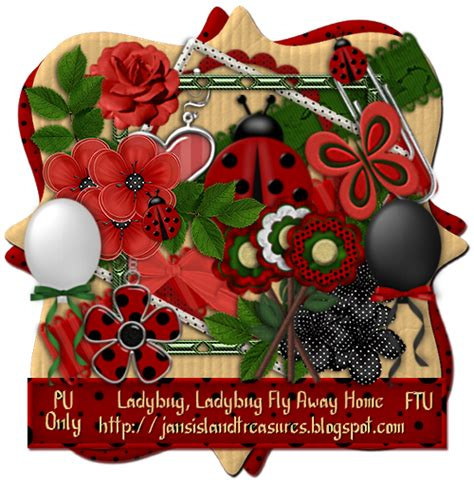 jan s island treasures ladybug ladybug fly away home