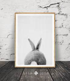 rabbit nursery decor rabbit print printable nursery bunny woodlands decor by