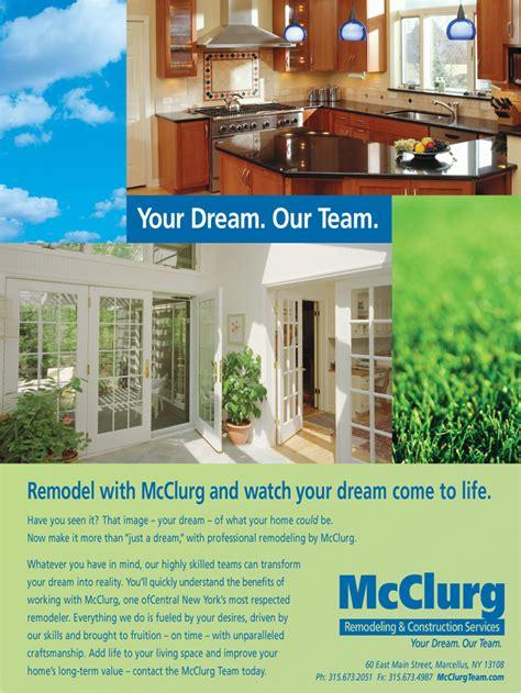 lp m advertising agency mcclurg remodeling