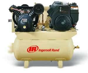 ingersoll rand 2475f14g kohler engine 14 hp gas drive portable air compressor