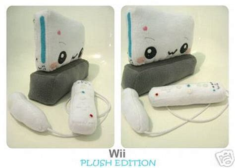 Snuggle Up To Gaming With The Wii Mote Plushie by Plush Nintendo Wii Hits The Auction Block