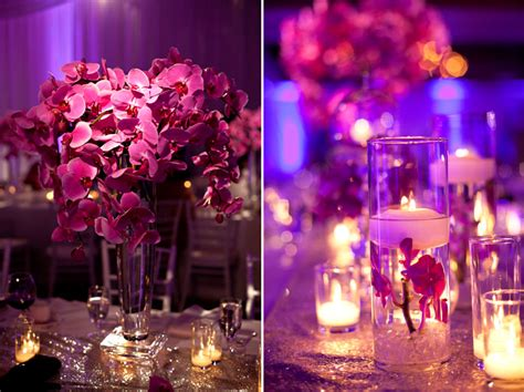 22 pelican hill wedding white fuschia chic decor