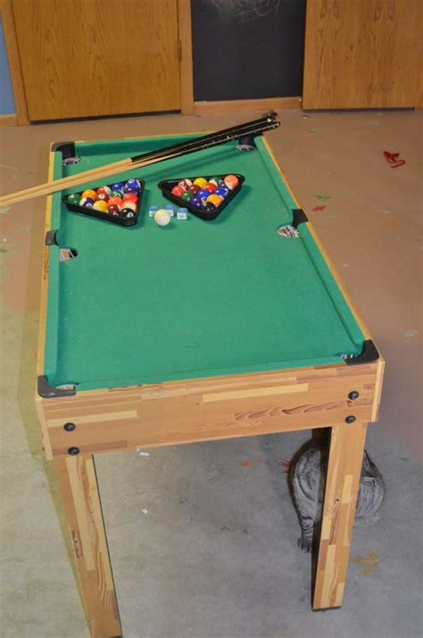 pool table stores look what we snagged for 8 99 at our thrift store