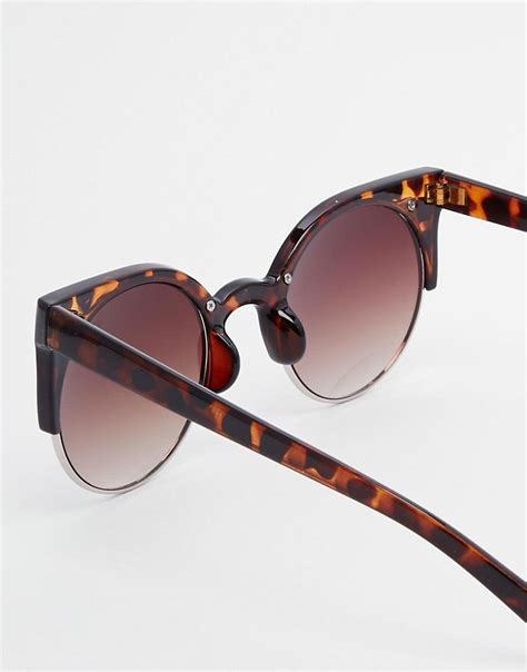 jeepers peepers jeepers peepers cat eye retro sunglasses