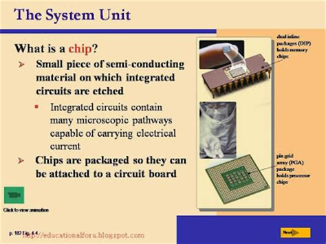 what material are integrated circuit made of education4all discovering computers the components of the system unit what is the system unit