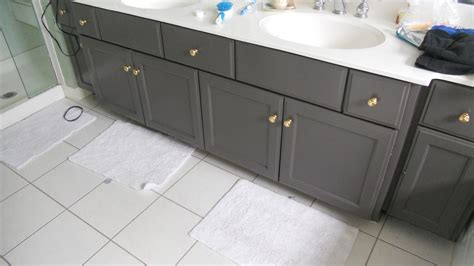 gray paint for bathroom cabinets updating cabinetry alexis nielsen interiors