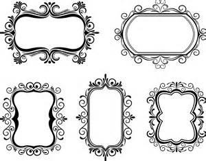 vector frame clipart clipartxtras