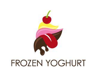 frozen yoghurt designed  fishdesigns brandcrowd