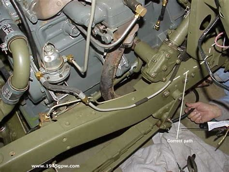 Jeep Fuel Line 17 Best Images About Willys Jeep On Rear Seat