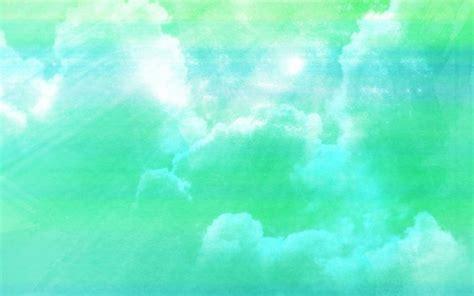 Pliko Creative Clasic Orange Green Blue free abstract cloudy sky aqua green background free
