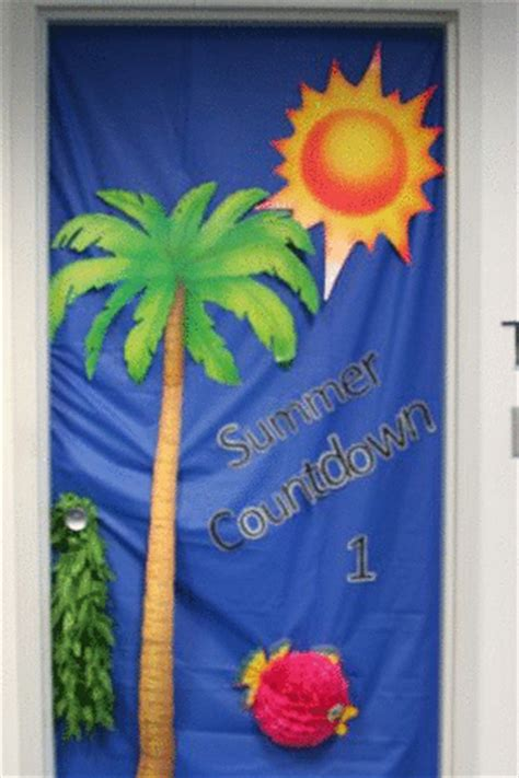 summer classroom decorating ideas classroom decor summer countdown school door decoration door and wall