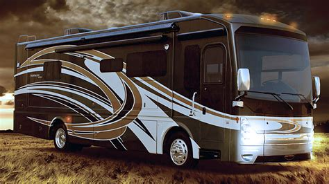 Diesel Motorhome Reviews: 2015 Tuscany XTE Class A Luxury RVs   YouTube