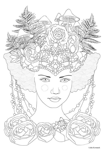 grimm tales coloring book dessin anti stress