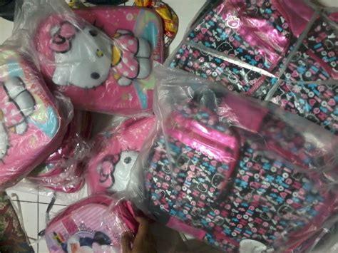 Tas Hk 2 In 1 Bahan Kanvas Bisa Tenteng Dan Selempang 27x10x19 tas ori hk import dr lgsg pabrik untuk anak ibuhamil