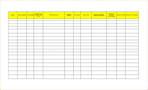 8 Office Supplies Inventory Spreadsheet Excel Spreadsheets Group Free Office Supply List Template