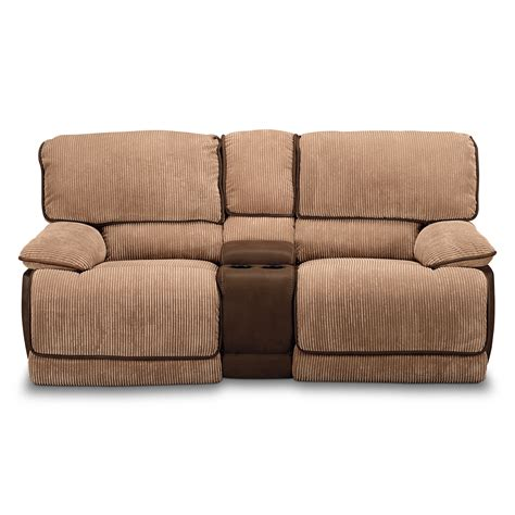 Reclining Loveseat by Laguna Gliding Reclining Loveseat American Signature Furniture