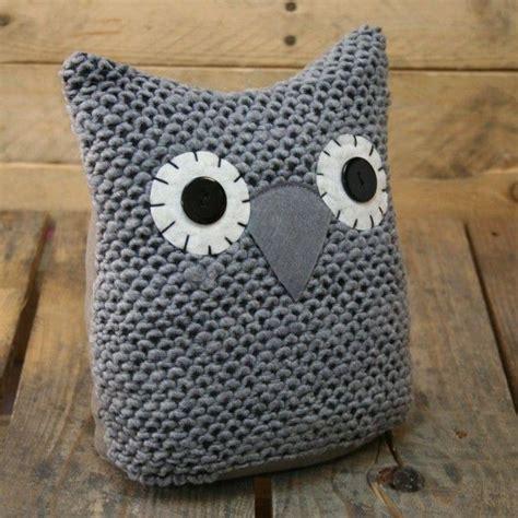 knitting pattern house door stop knitted owl doorstop grey owl door stop baby shower