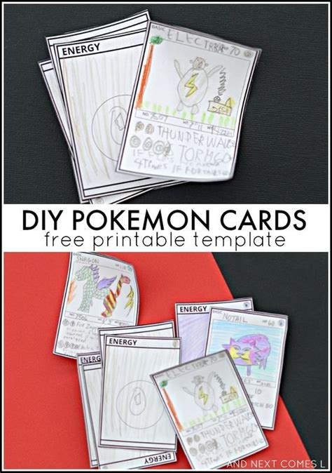 design and print your own pokemon card pok mon card 17 best images about pokemon c ideas on pinterest