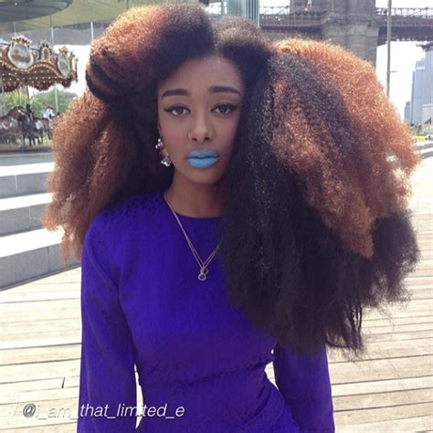 natural hairstyles on instagram big and bold natural hair looks on instagram
