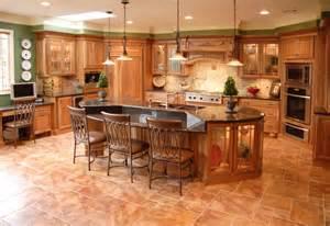Decorative Tile Inserts Kitchen Backsplash tuscan cherry mediterranean kitchen philadelphia