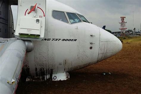 batik air yang tergelincir batik air tergelincir di bandara adisucipto republika online