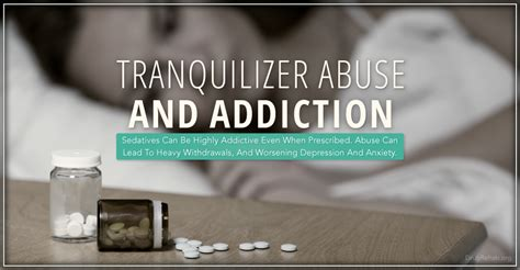 Tranquilizer Used For Detox by Tranquilizer Abuse And Addiction