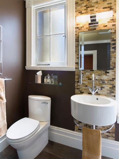 decorating very small bathrooms decorating very small bathrooms concave vanity and elevated window and light stone